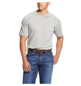 Tops-Men Ariat 10025434 FR Short Sleeve Baselayer