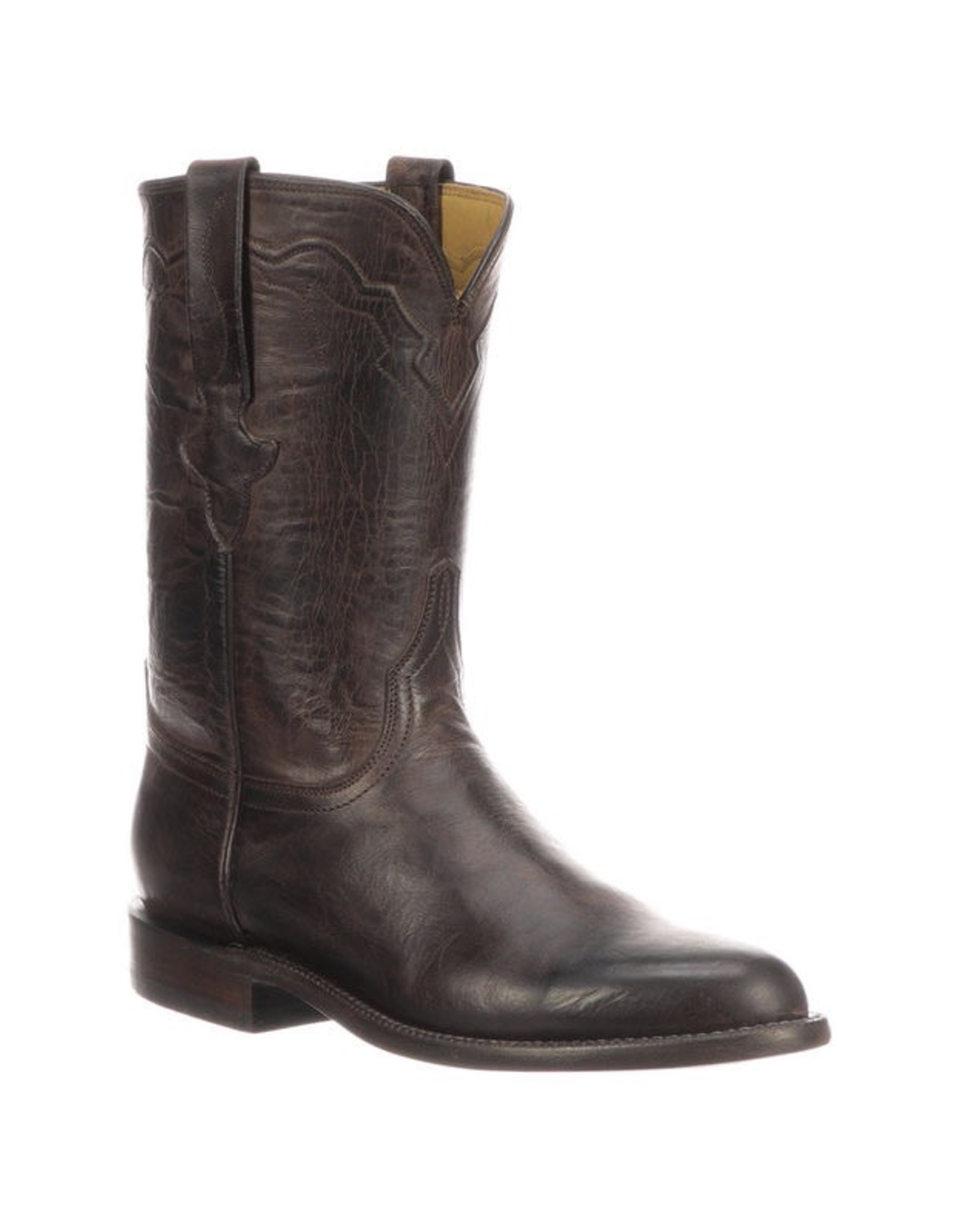 Boots-Men Lucchese GY3512.RR Tanner Chocolate Mad Dog Goat