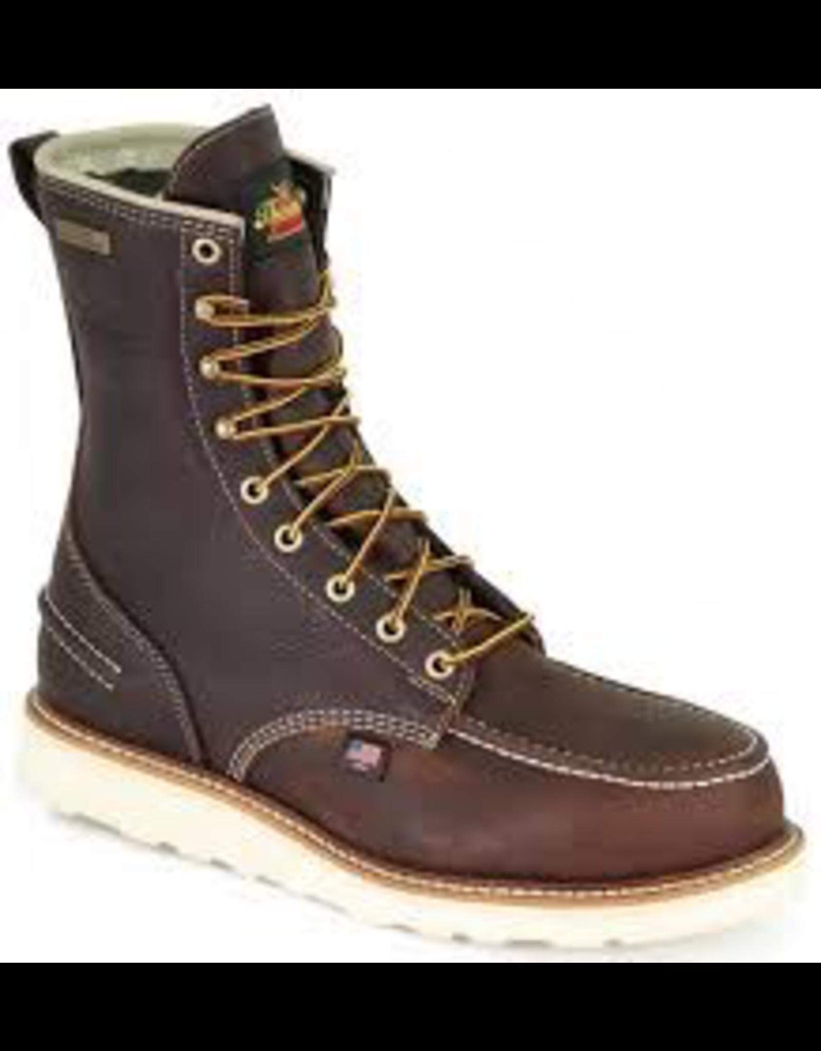 Boots-Men Thorogood 804-3800 8��� Safety Moc Toe