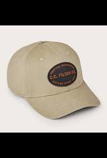 Hats Filson 20116452 Twill Logger Cap Beige