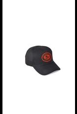 Hats Filson 20131778 Black Canvas Mesh Logger Cap