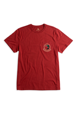 Tops-Men Duck Head D21005 Badge Short-Sleeve T-Shirt