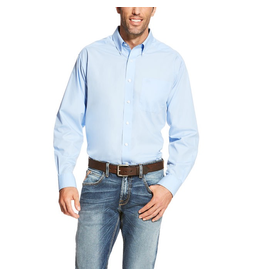 Tops-Men Ariat 10020329  Wrinkle Free Solid Shirt