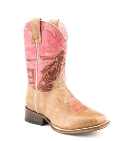 Boots-Children Roper 09-018-7022-1518 Rodeo Barrel Racer