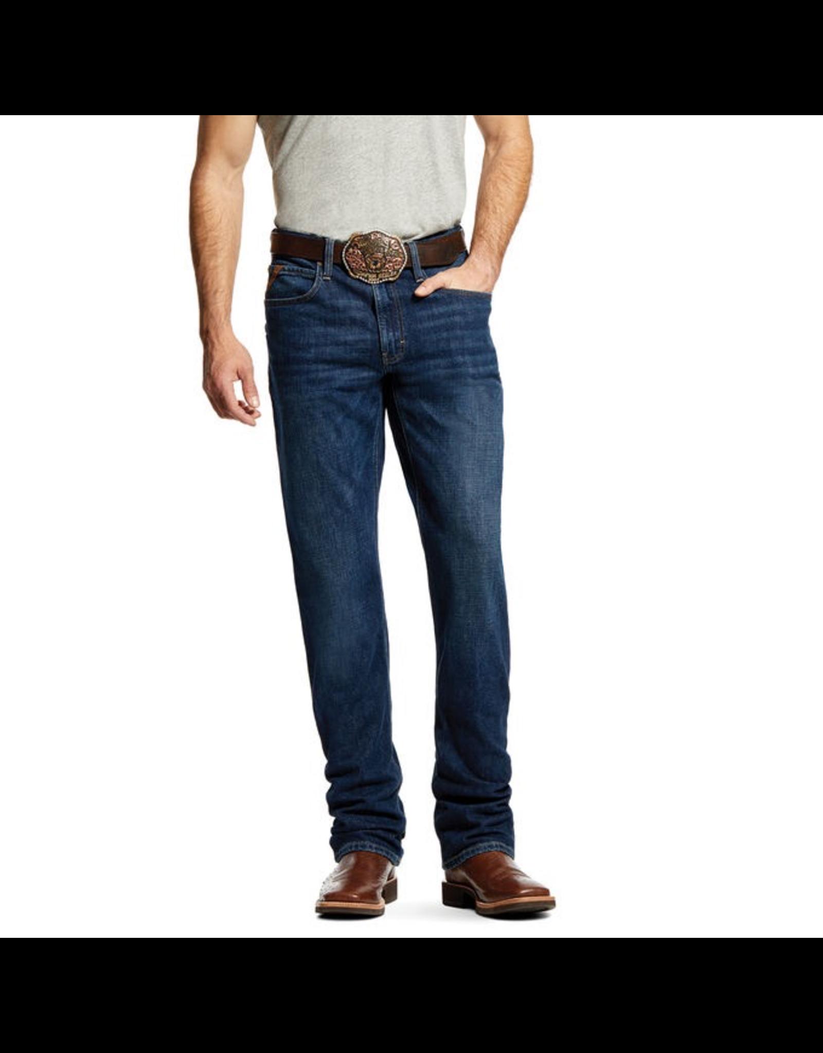 Jeans-Men Ariat M1 10029008 Slim Straight Stretch