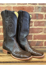 Boots-Men Hewlett & Dunn Q8708 American Alligator Belly