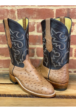 Boots-Men Hewlett & Dunn 274.RR  Full Quill Ostritch