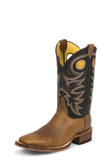 Boots-Men Justin BR740 Cado Brown