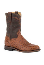 Boots-Men Stetson 12-020-7606-0760 Ostrtitch Roper
