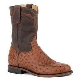 Boots-Men Stetson 12-020-7606-0760 Ostrtitch Roper
