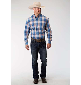 Tops-Men Roper 301-379-6072 Amarillo Plaid
