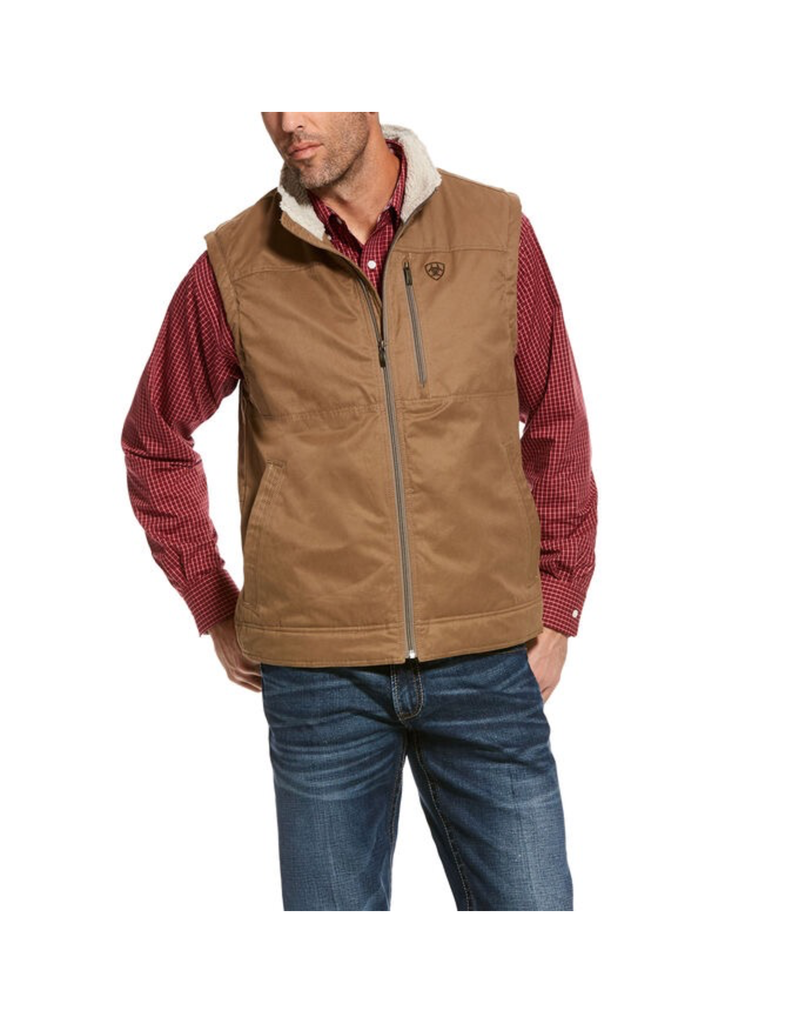 Outerwear Ariat 10028416 Grizzly Canvas Vest