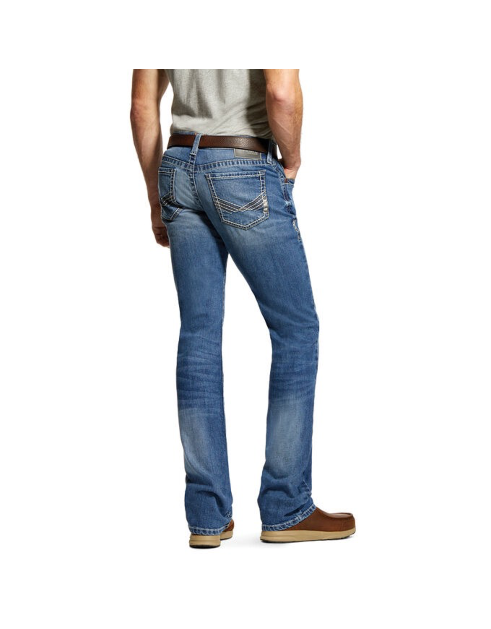 Jeans-Men Ariat 10028926 M7 Extra Slim Straight
