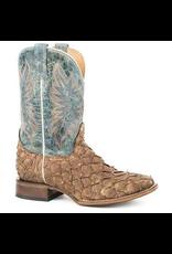 Boots-Men STETSON 12-020-8818-3715 Pirarucu