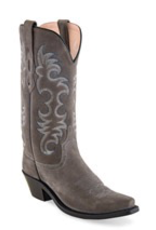 Boots-Women OLD WEST LF1516 Grey Roughout
