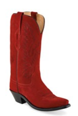 Boots-Women OLD WEST LF1519 Red Roughout