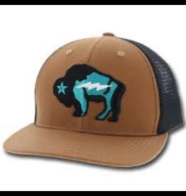 Hats Hooey 9421T Bison Trucker Cap