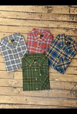 Tops-Men BROWNING Crawford Shirt Plaid A2765