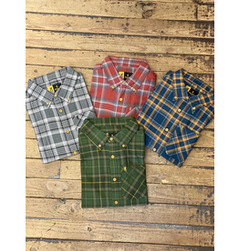 Tops-Men BROWNING Crawford Shirt Plaid A2765