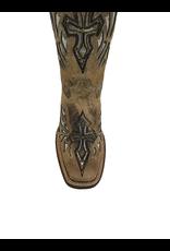 Boots-Women HEWLETT & DUNN F402 Silver Winged Cross