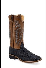 Boots-Men OLD WEST Black Caiman Print BSM1885
