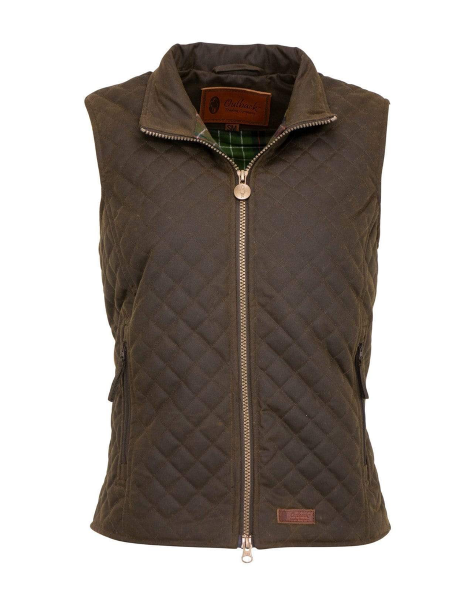 Outerwear OUTBACK Ladies Quilted Vest 2177