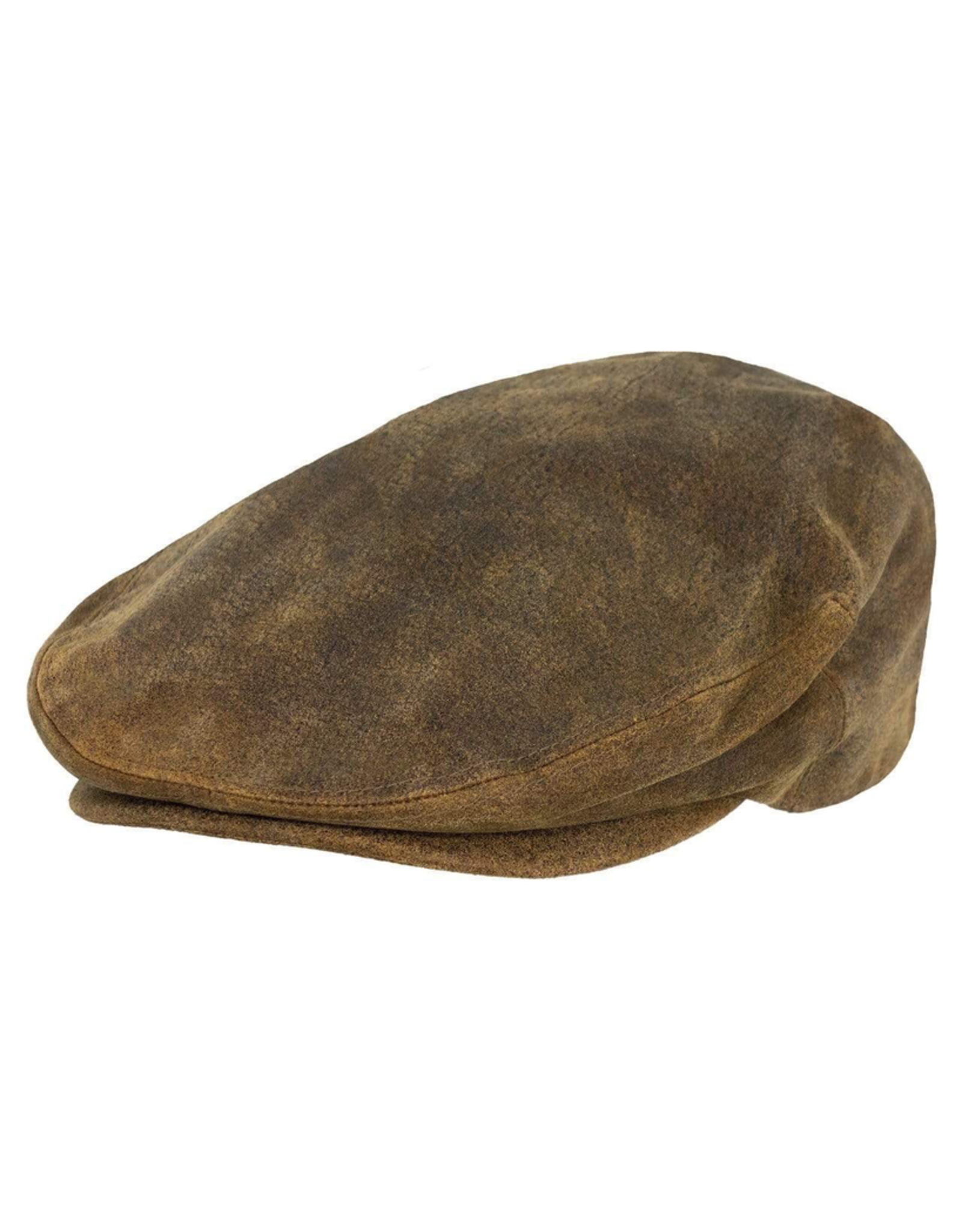 Hats OUTBACK Leather Ascot Cap No. 14834