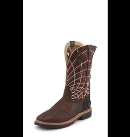 Boots-Men JUSTIN Derrickman Ost. Print WK4835
