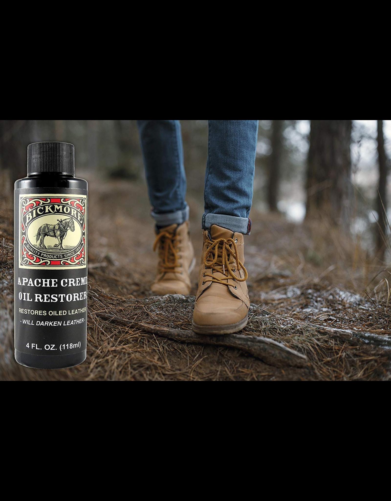 Boot Care Products BICKMORE Apache Cream  Oil Restorer 4 oz
