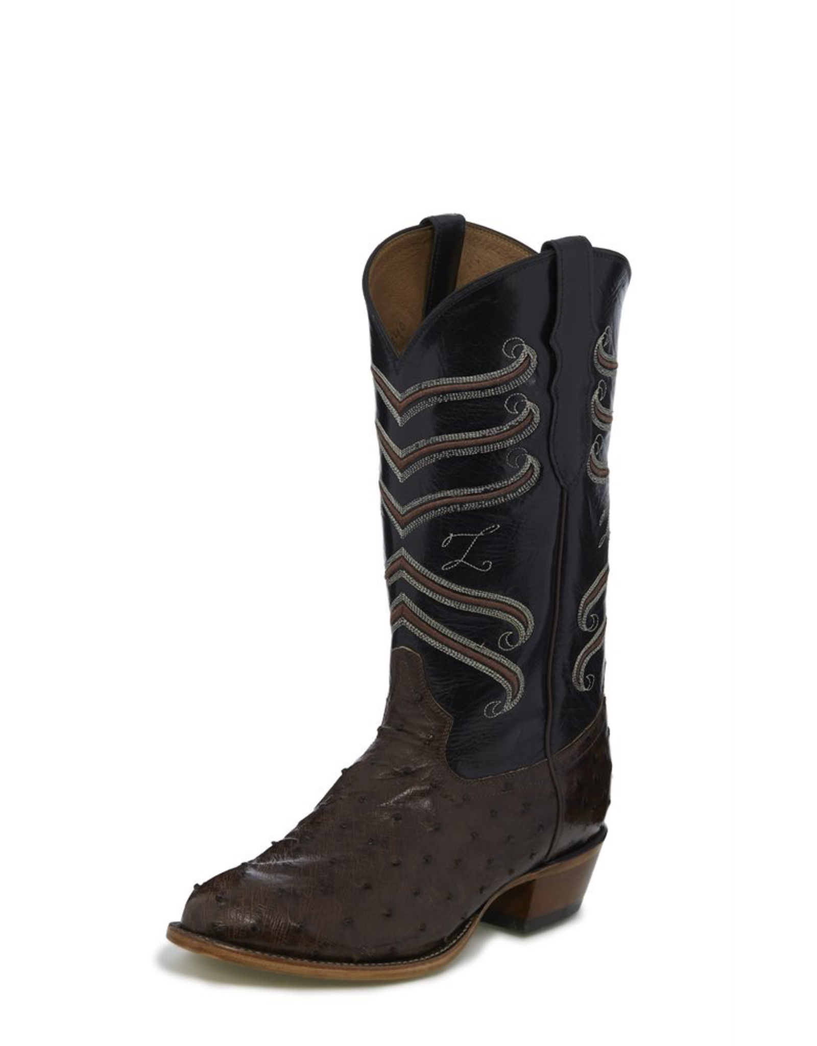 Boots-Men TONY LAMA CT840 Hermoso Full Quill