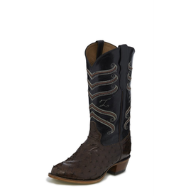 Boots-Men TONY LAMA CT840 Hermoso Full Quill