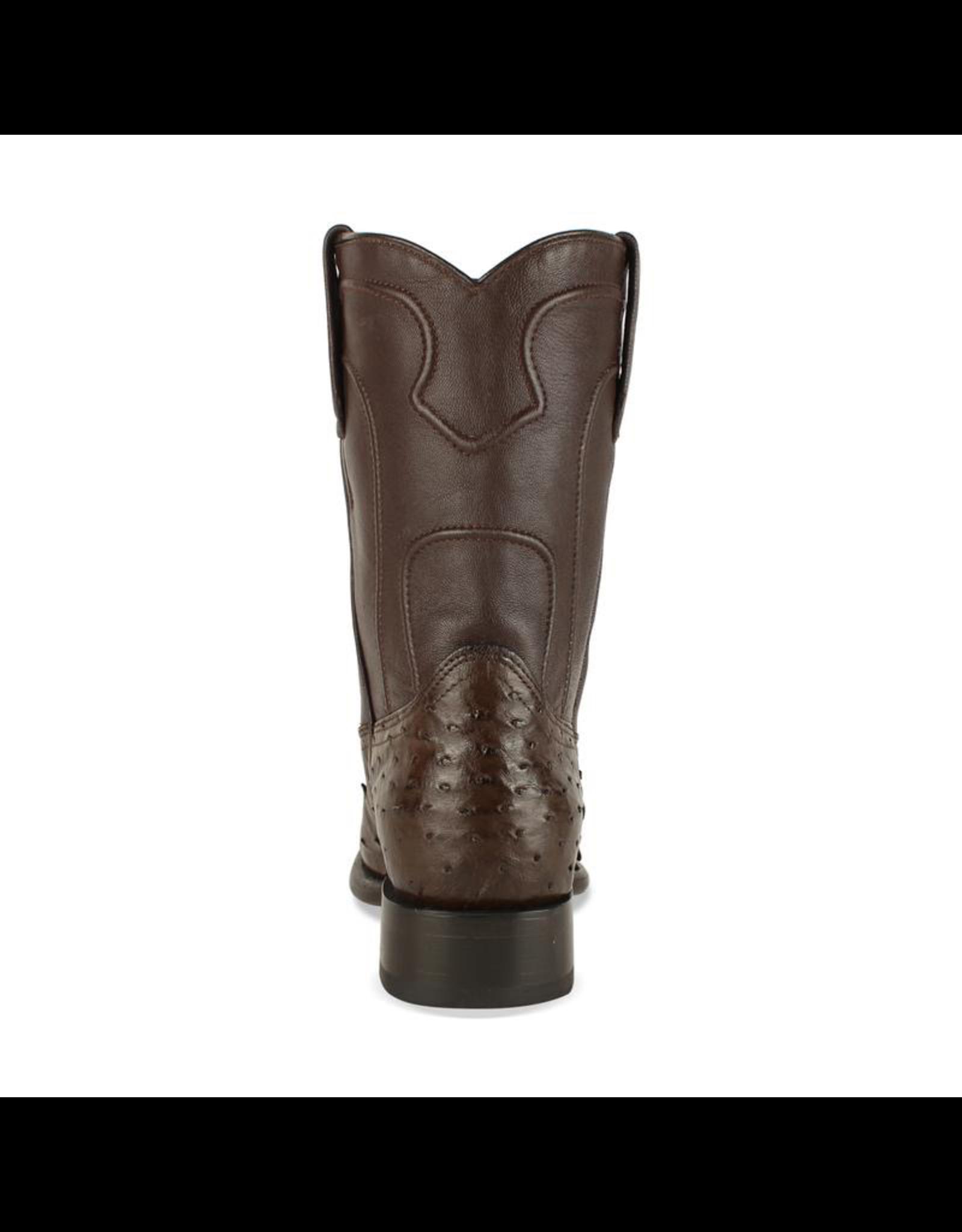 Boots-Men LOS ALTOS Full Quill Ostritch Roper