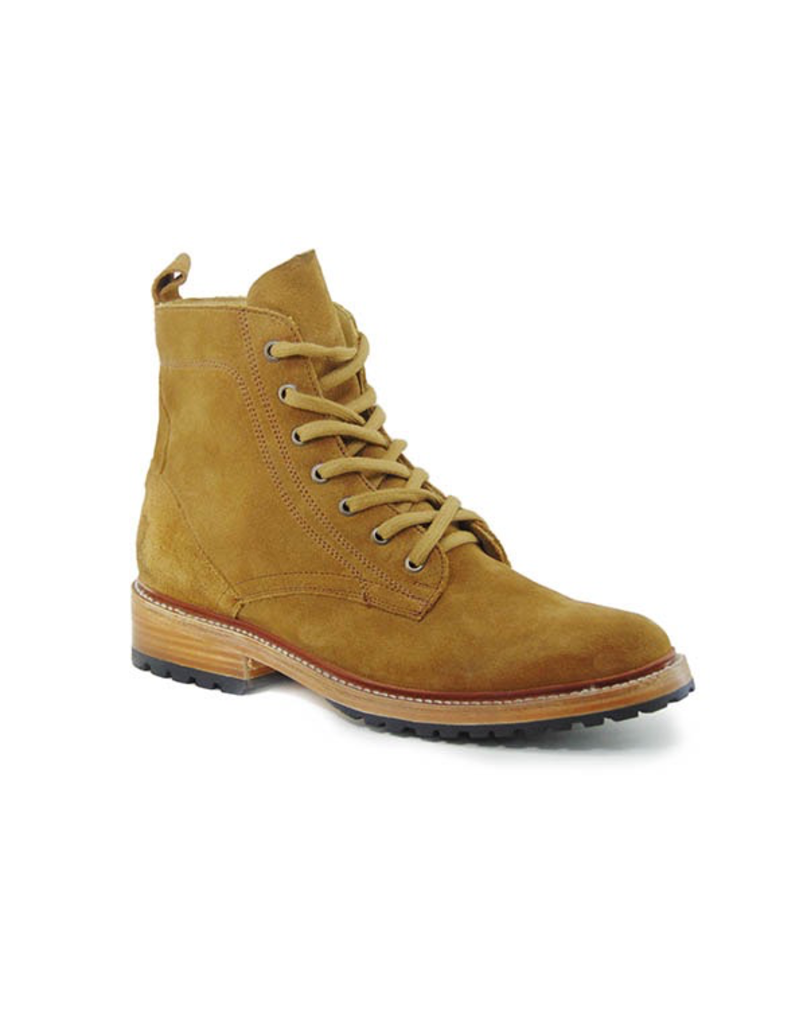Boots-Men STETSON Suede Chukka  Lace-Up