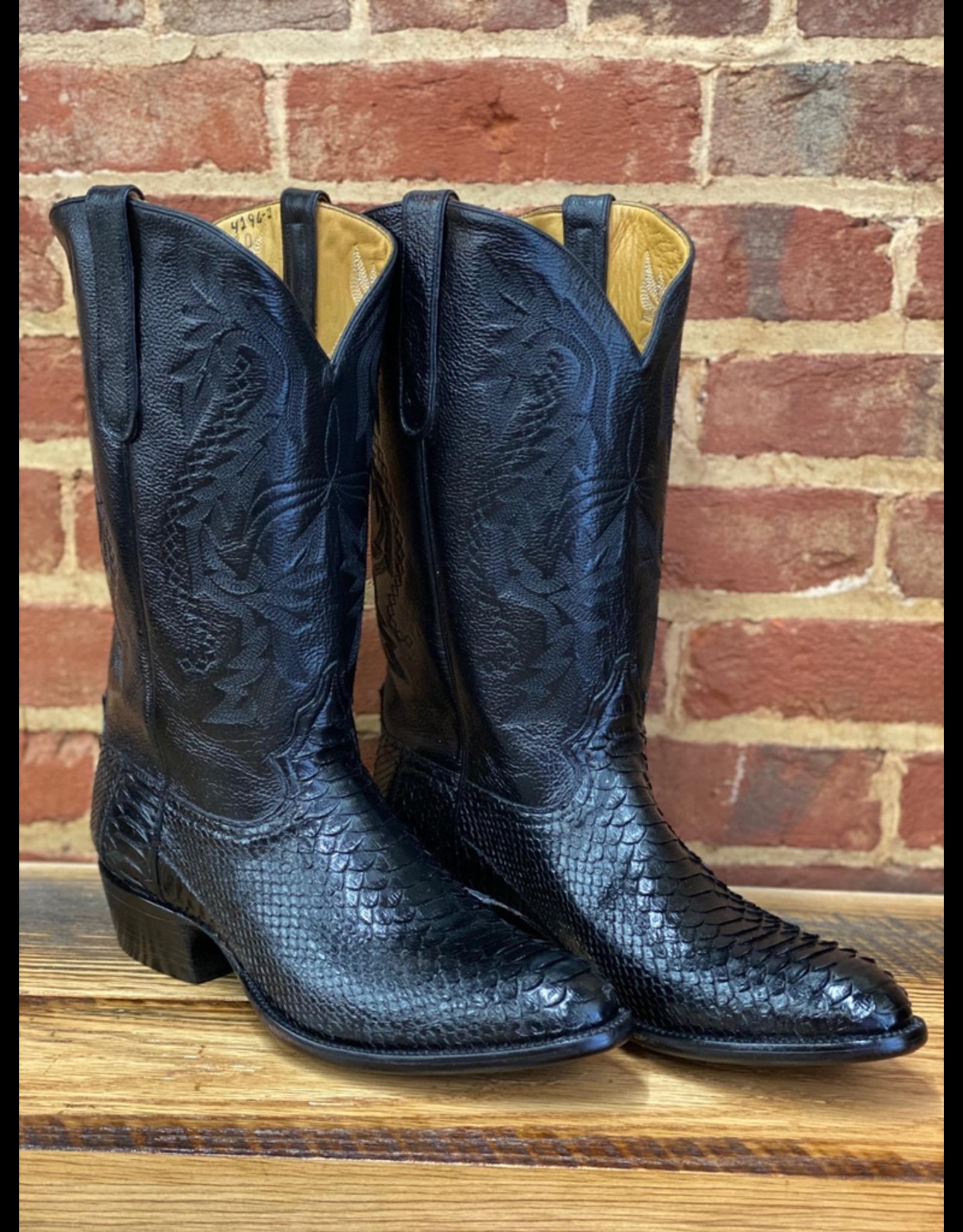 Boots-Men Rodney Ammons  11.5 E Black Python