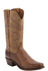 Boots-Men LUCCHESE Nathan N1160.74 Smooth Ostritch