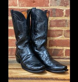 Boots-Men LUCCHESE N1550.74 11.5 B Black Goat
