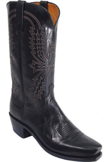 Boots-Men LUCCHESE N1550.74 11.5 B Black Goat