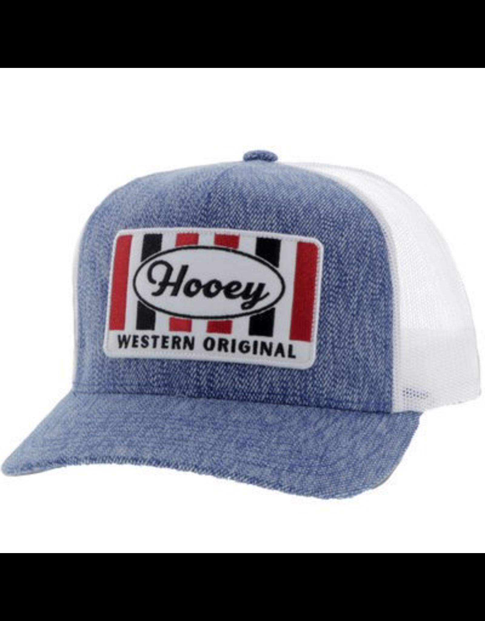 Hats HOOEY Denim Retro 5-Panel