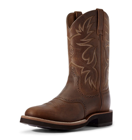 Boots-Men ARIAT Heritage Crepe