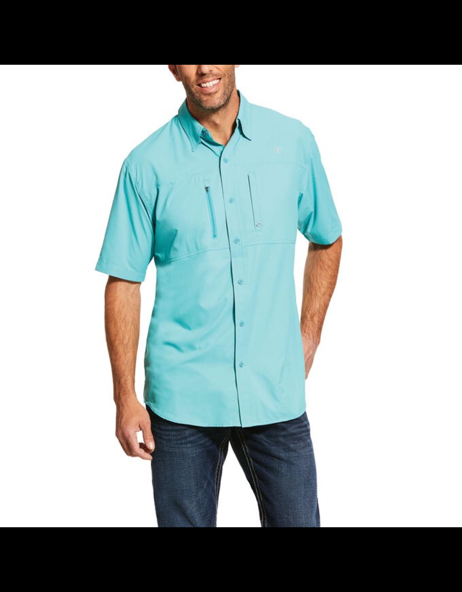 Tops-Men ARIAT VentTek SS Shirt 1003496