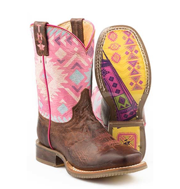 Boots-Children TIN HAUL Pink Moon Tee Pee