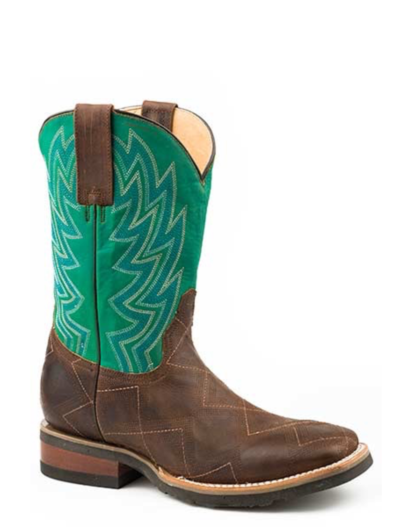 Boots-Men ROPER Garland Stitched Vamp