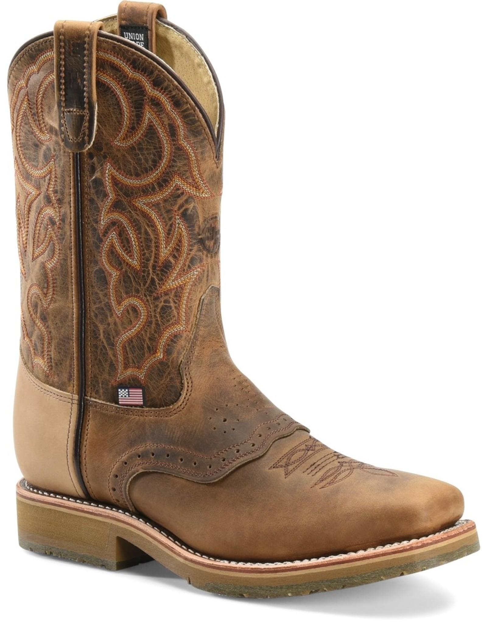 Boots-Men Double H DH3567 Dwight Steel Toe