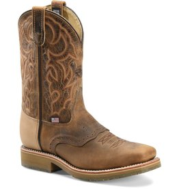 Boots-Men Double H DH3567 Dwight Steel Toe