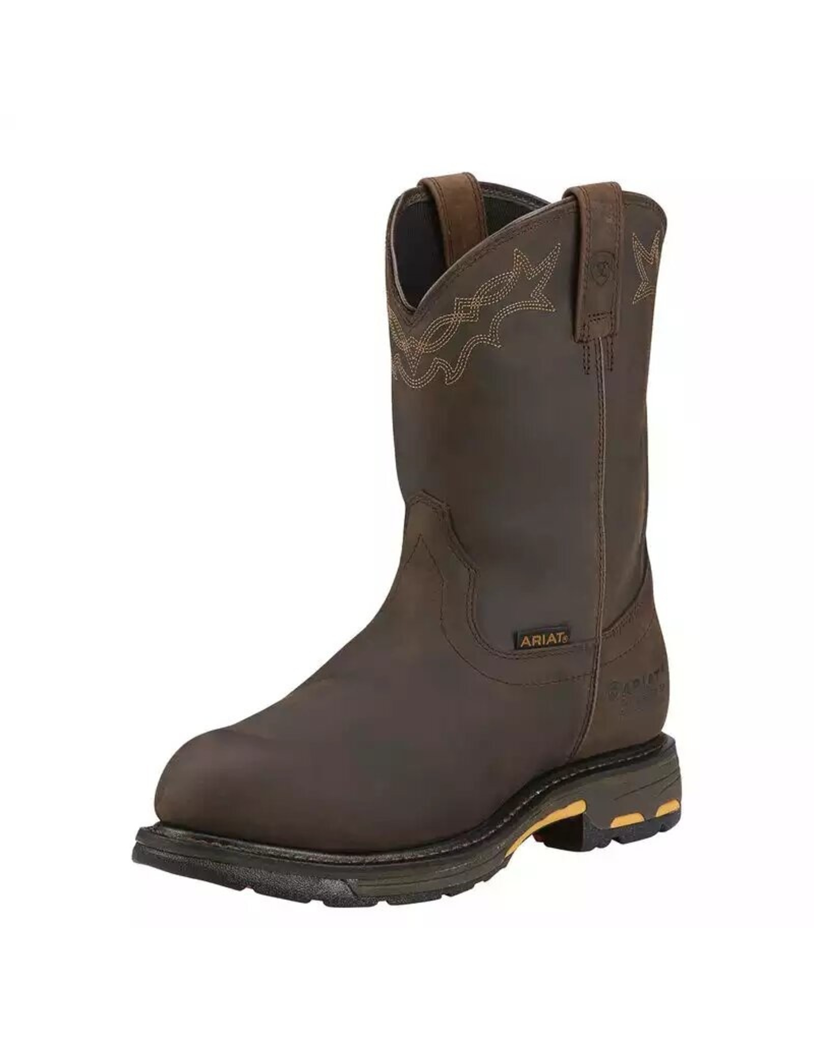 Boots-Men ARIAT 10001200 Workhog H2O Comp Toe