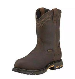 Boots-Men ARIAT 10001200 Workhog H2O Comp Toe