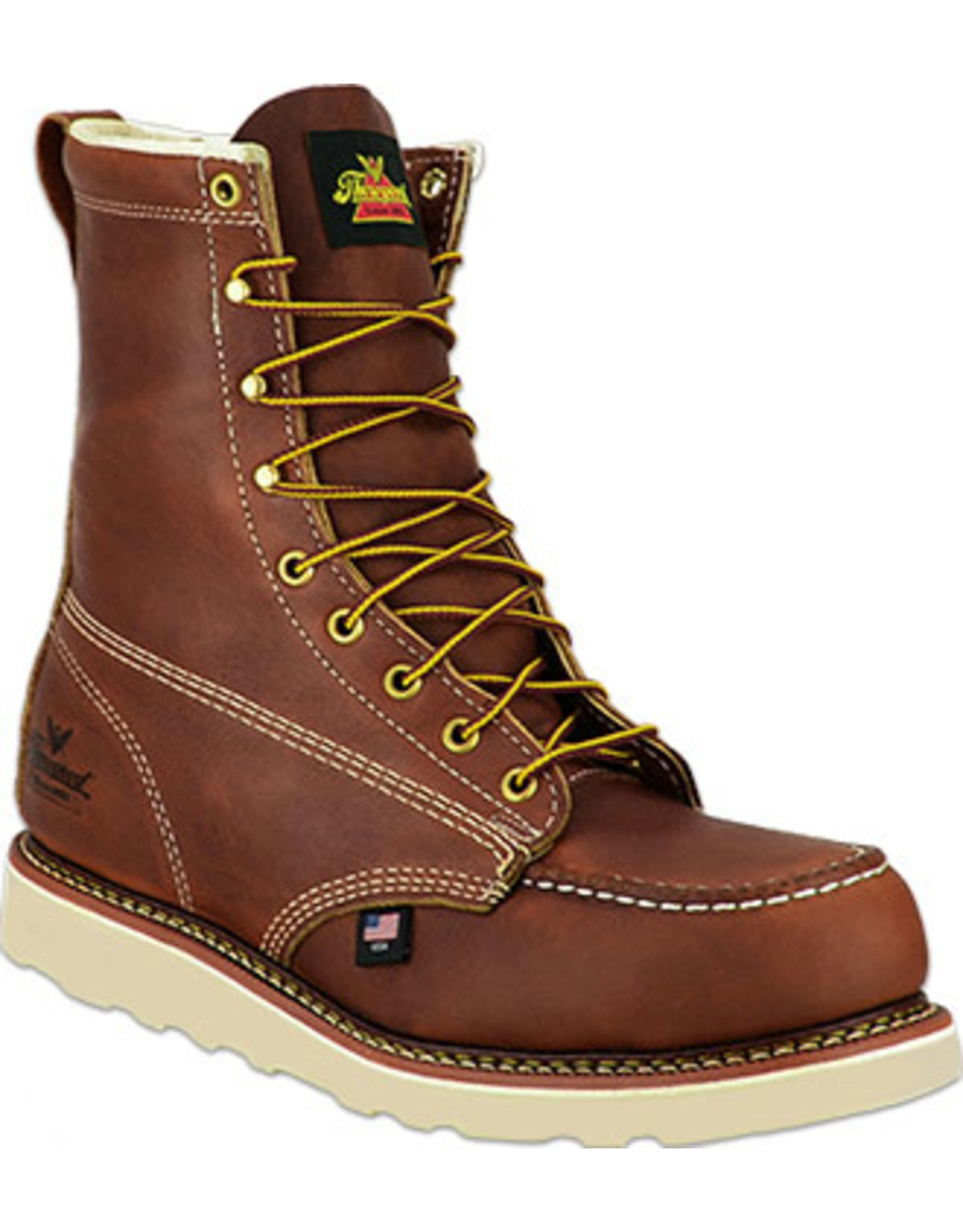 Boots-Men Thorogood 804-4208 8in Moc Safety Toe