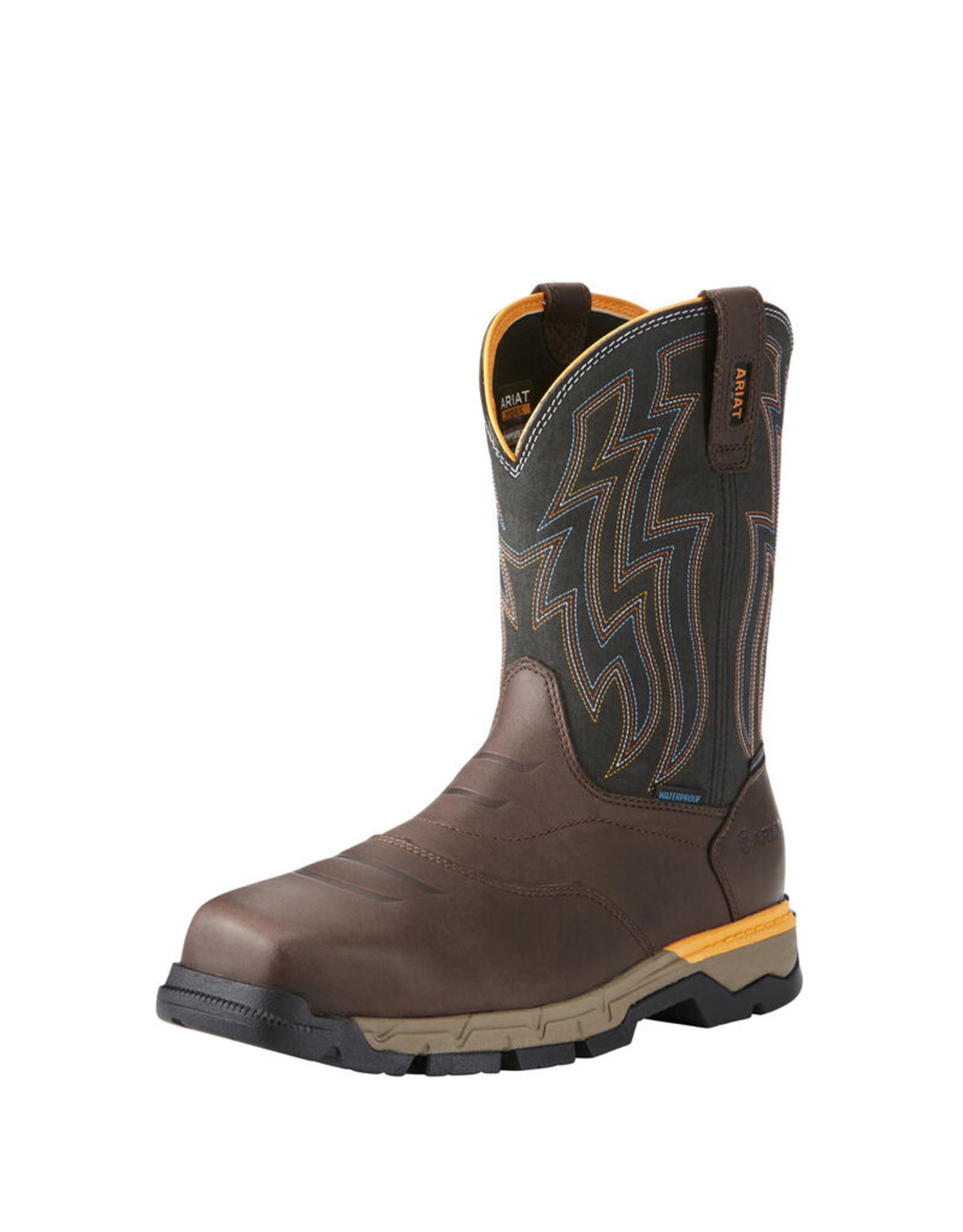 Boots-Men ARIAT 10034157 Rebar H2O Comp Toe