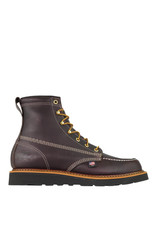 Boots-Men THOROGOOD 814-4266 American Heritage 6in Moc- Black Wedge