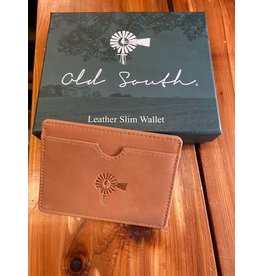 Accessories OLD SOUTH  Leather Slim Wallet